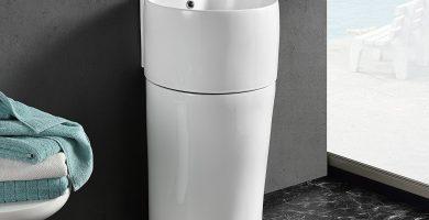 Lavabos de baño con pedestal