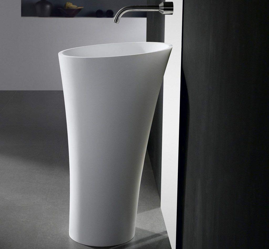 lavabos con pedestal tipo columna