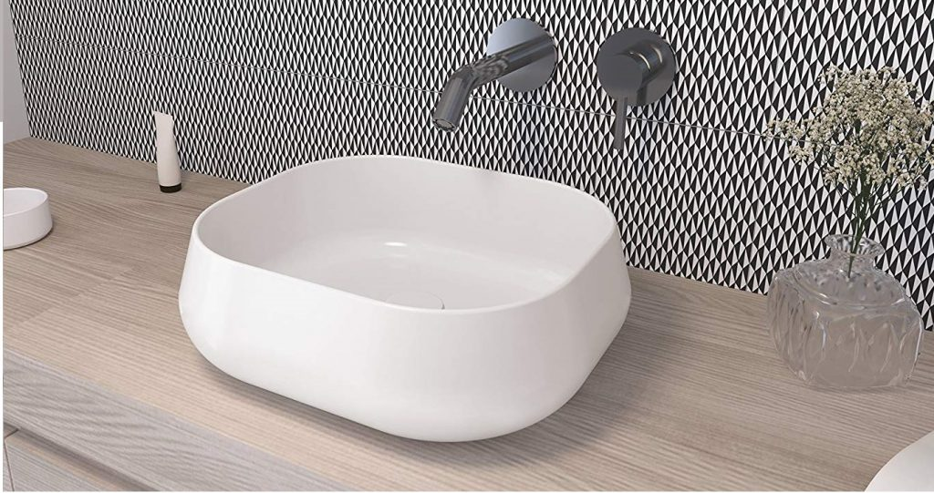lavabo sobre encimera